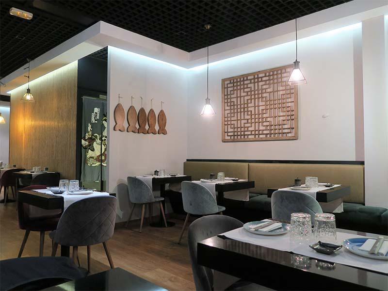 Restaurante Ayala Japon comedor