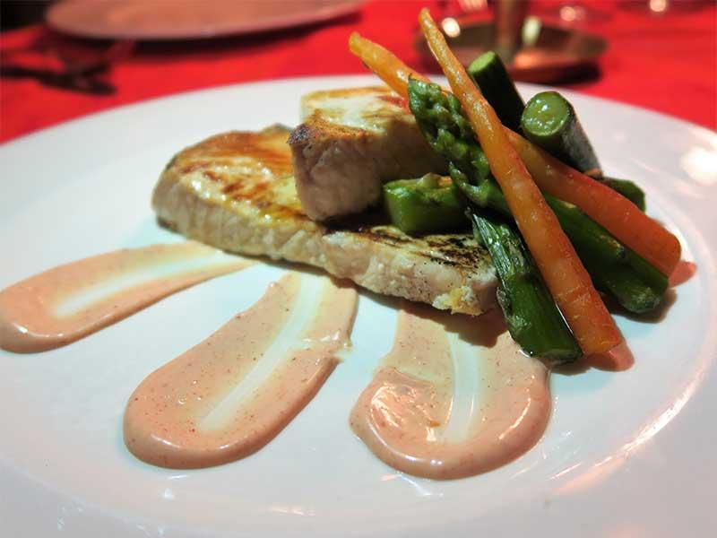Restaurante La Galette 2 Pez Espada con encurtidos