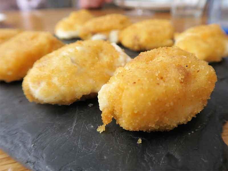 Restaurante Quinque Madrid Croquetas de jamon