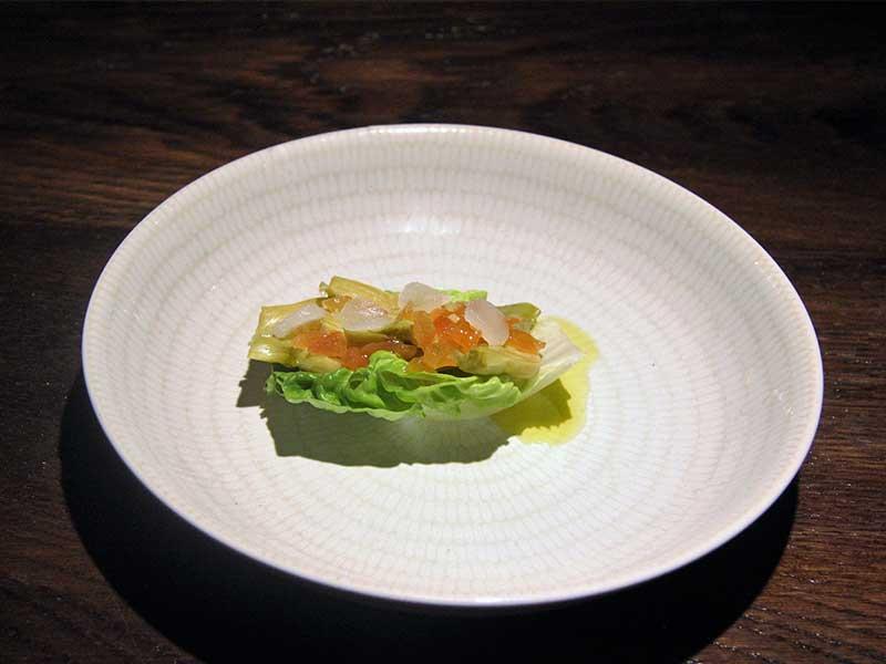 Fiestas de las verduras de Tudela plato de presentacion