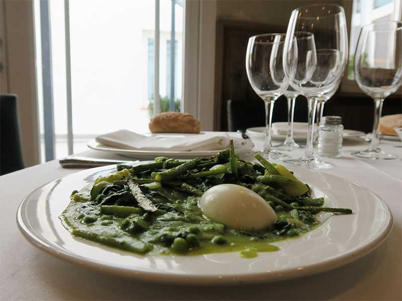 Restaurante La Ancha Zorrilla Panache de verduras