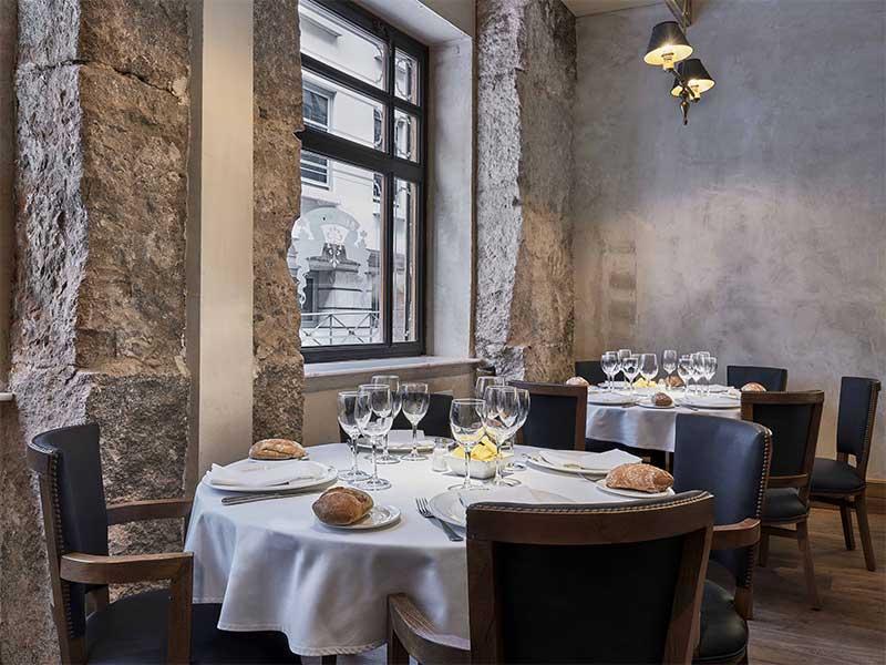 Restaurante La Ancha calle Zorrilla