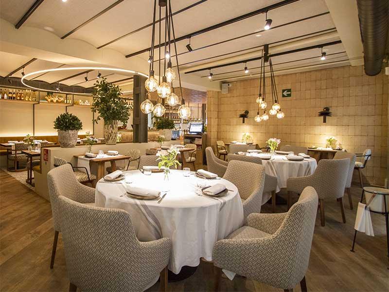 Sa Brisa restaurante de Ibiza en Madrid comedor
