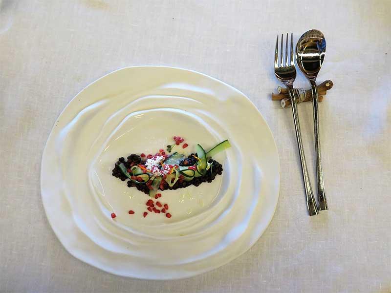Bodega Pago de Carraovejas Ensalada de lenteja beluga