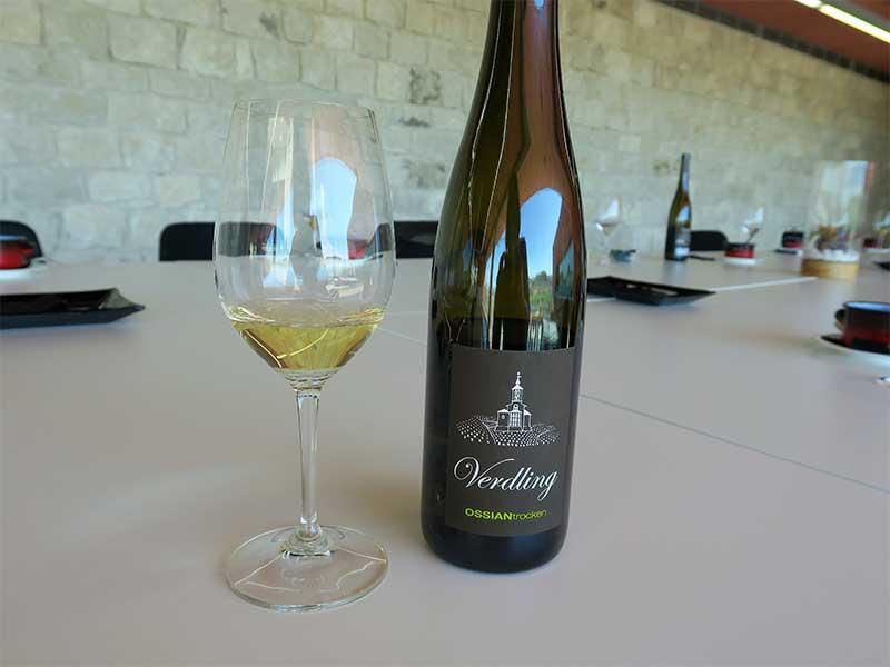 Bodega Pago de Carraovejas vino blanco Ossian