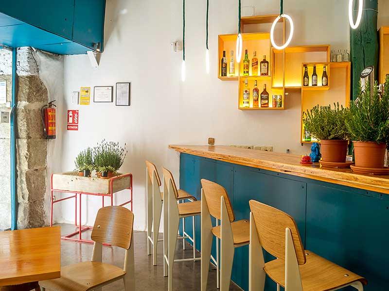 Pizzi&Dixi Restaurante Vegano Madrid Barra