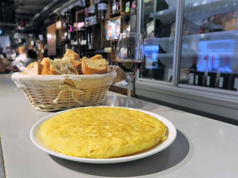 Tortilla de patatas La Ardosa