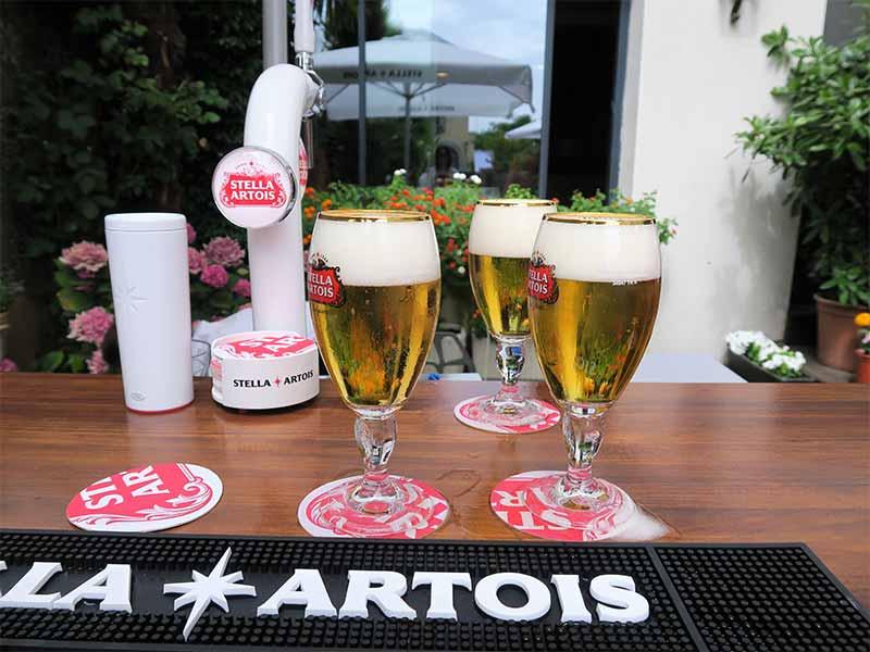 Stella Artois cerveza belga