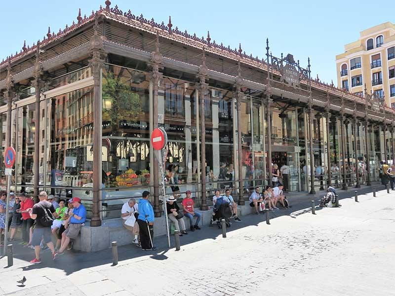 Mercado de San Miguel Edificio
