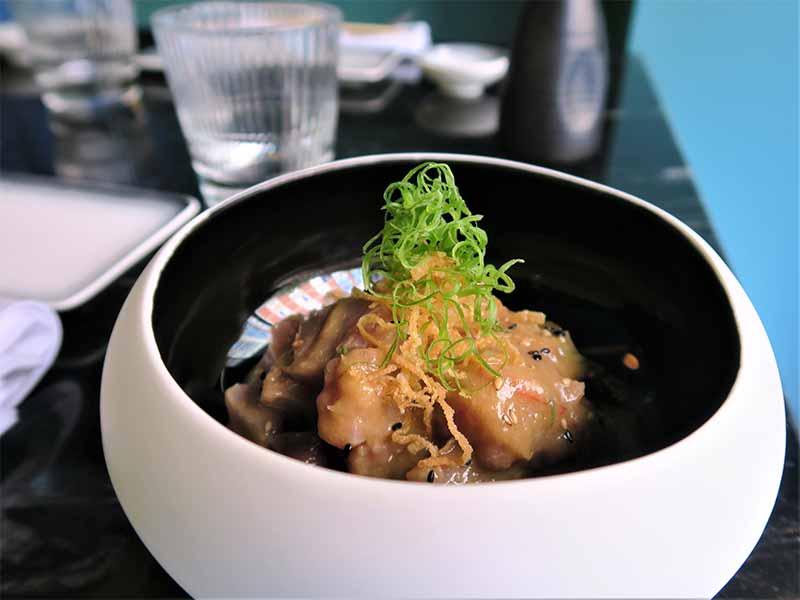 Paru Inkas Sushi & Grill ceviche de corvina