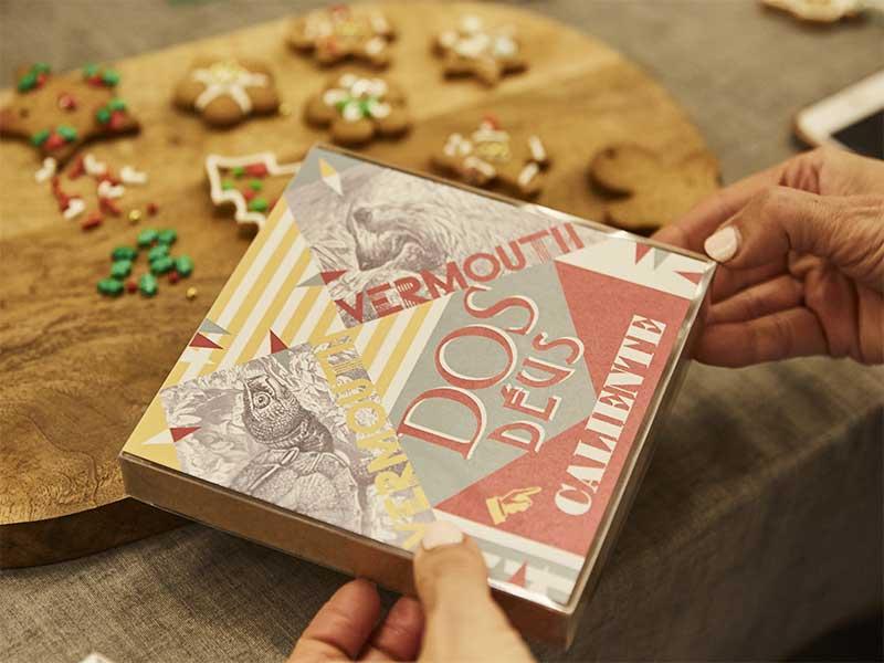 Cajas de Galletas de Navidad