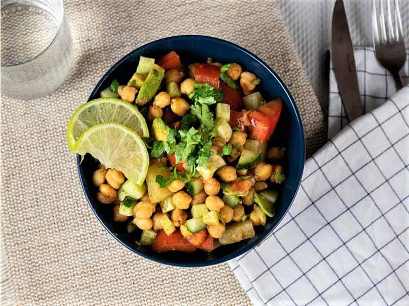 Food in the box cocina en casa