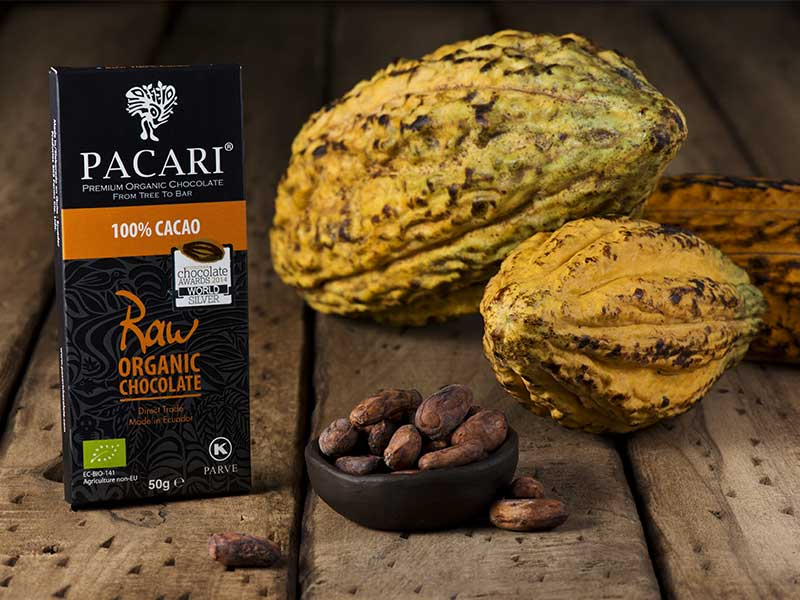 Chocolate Pacari 100% cacao