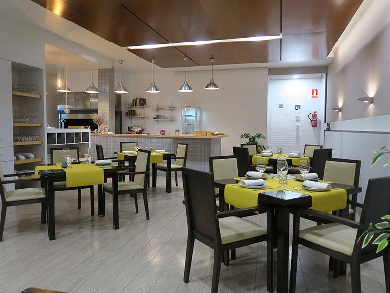 Restaurante Bocarte Pontevedra comedor