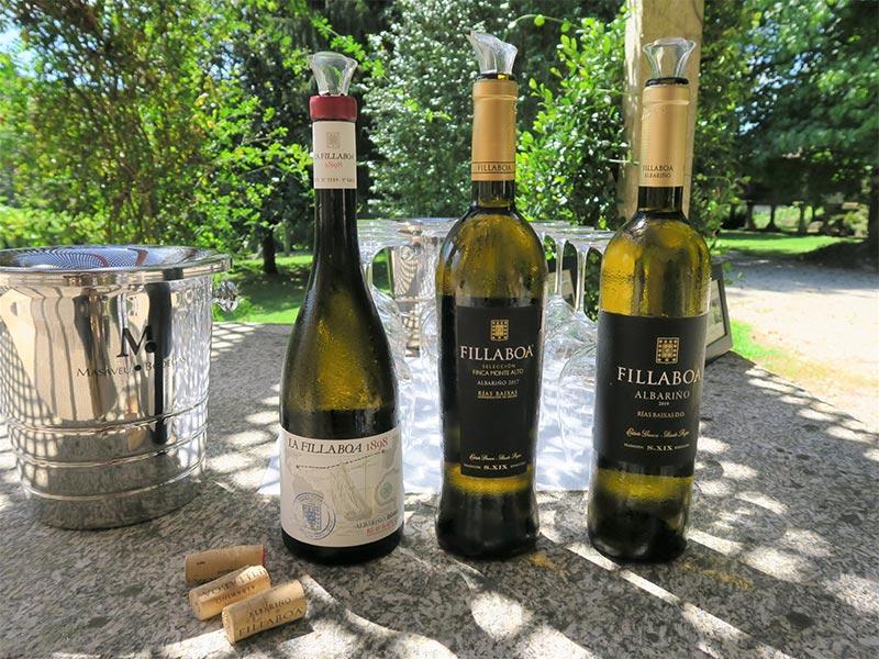 Cata de vino de Bodegas Fillaboa