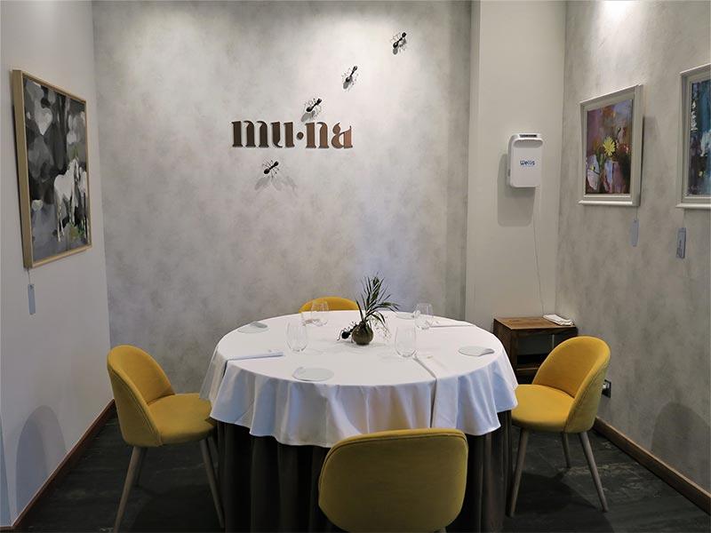 Restaurante Muna Ponferrada Leon comedor