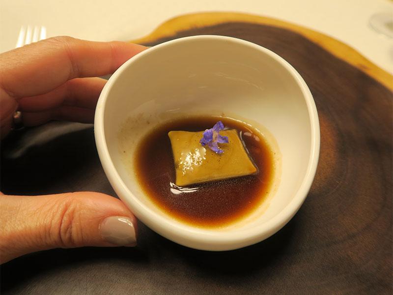D·Origen Espacio Gourmet Ravioli relleno de pichon