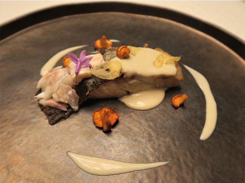 D·Origen Espacio Gourmet Rodaballo a la brasa