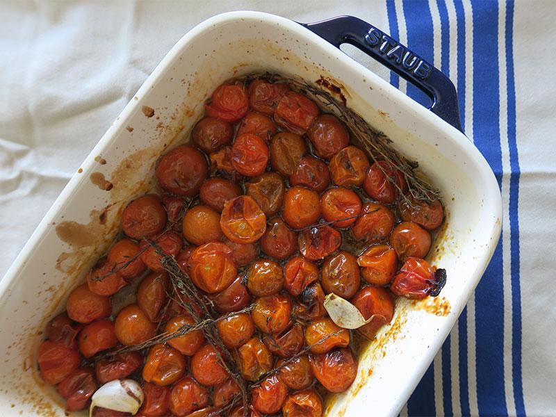 Tomates cherry receta de Goutdhestia