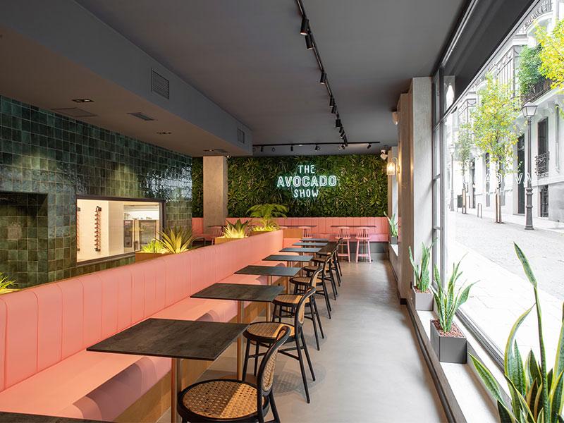 The Avocado Show restaurante
