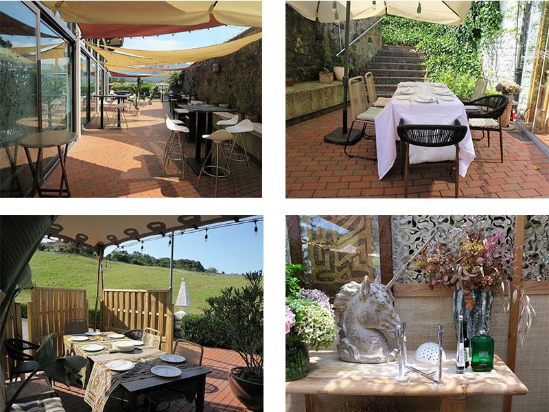 Las Terrazas de Sardalla en Ribadesella zonas del restaurante
