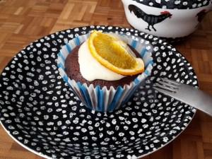 Glutenfri chokoladekage med appelsin