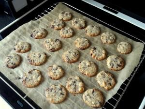 Boghvede cookies
