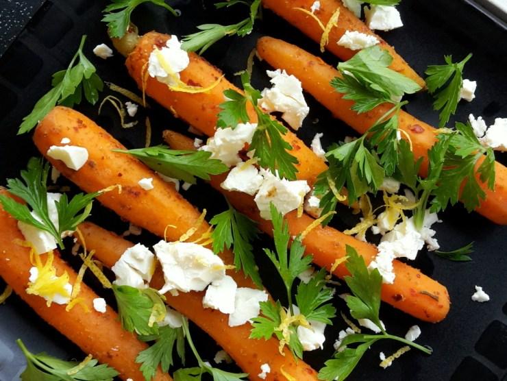 spicy gulerødder