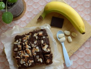 banan brownies