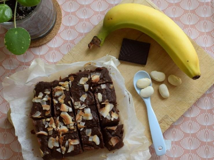 banan brownies