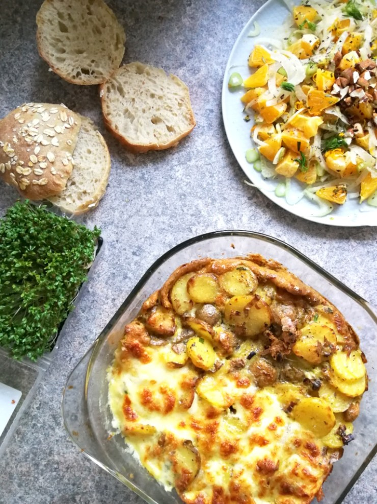 tortilla, spansk omelet, kartoffelomelet, vegetar, low fodmap, fodmap venlig, gastroequation,