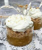 Klassisk æblekage de luxe