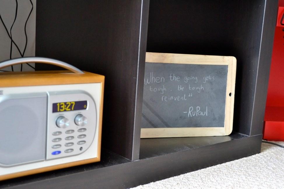 DAB Digital Radio, Inspirational quote, RuPaul, Interiors