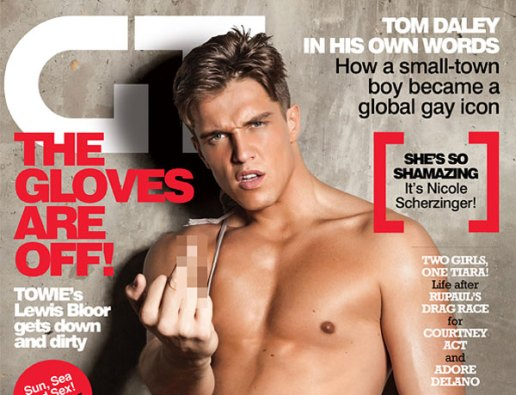 lewis bloor, gay times, front cover, gastrogays gay times, GT magazine