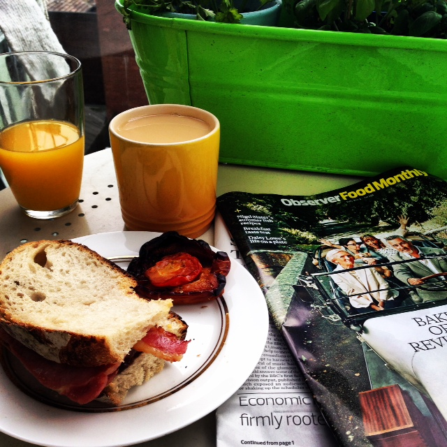 breakfast balcony, observer food monthly, OFM magazine, guardian magazine, food magazine ofm,
