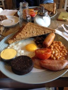 goose on the loose, goose loose dublin, irish fry up, irish breakfast