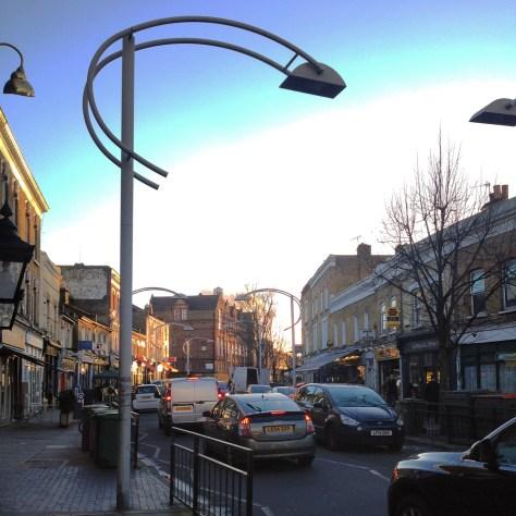 Bellenden Road Peckham view street gastrogays