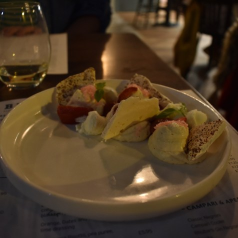 Bacaro Liverpool restaurant gastrogays meringue dessert Italian