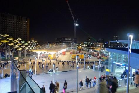 stratford station concourse bus train tram DLR rail e15 London