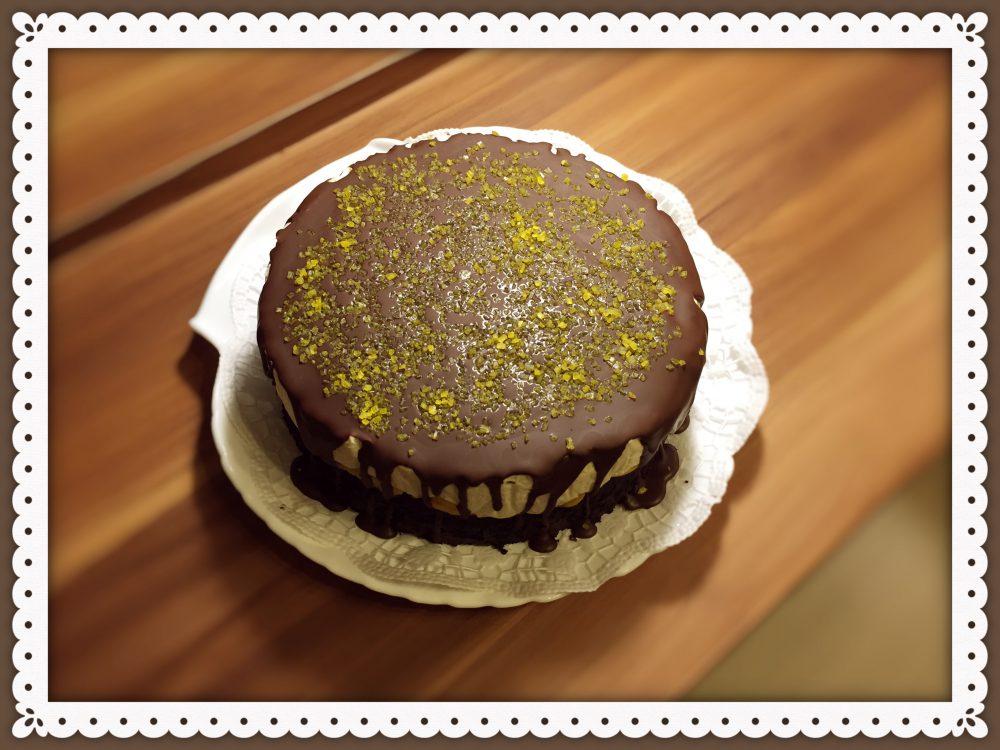 Túrótorta rozsliszttel és nádcukorral (Cottage cheese cake with cane sugar and rye flour)