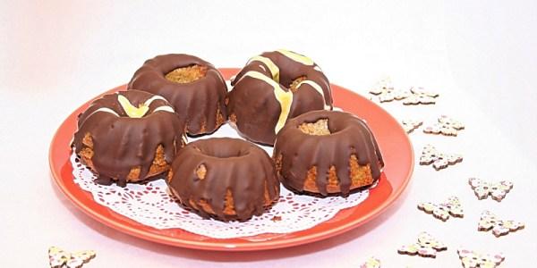 Csokis mini kuglófok