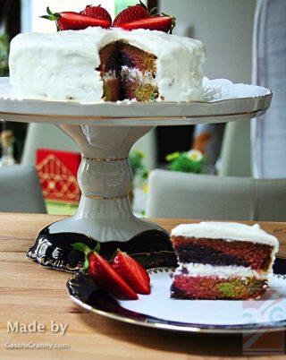 Rusztikus torta vintage textúrával