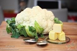 Hozzávalók-Karfiol rizs