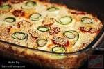 Kétsajtos zöldséges tart (pite)