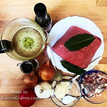 Hozzávalók-Worchesteres marhahús