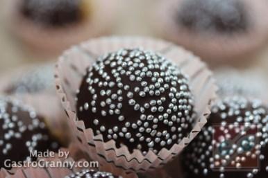 Íme a kész csokis cake pop