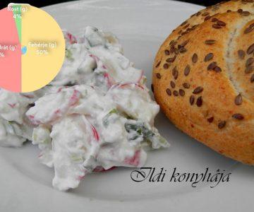 Retek saláta -Ildi receptje-