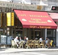 Frontansicht des Restaurants Gräfin am Naschmarkt