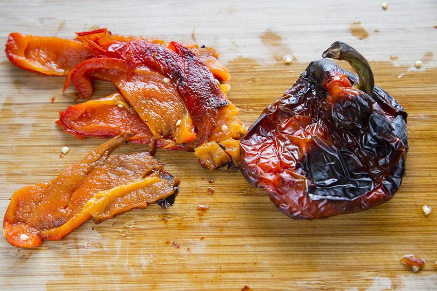 Rød peber