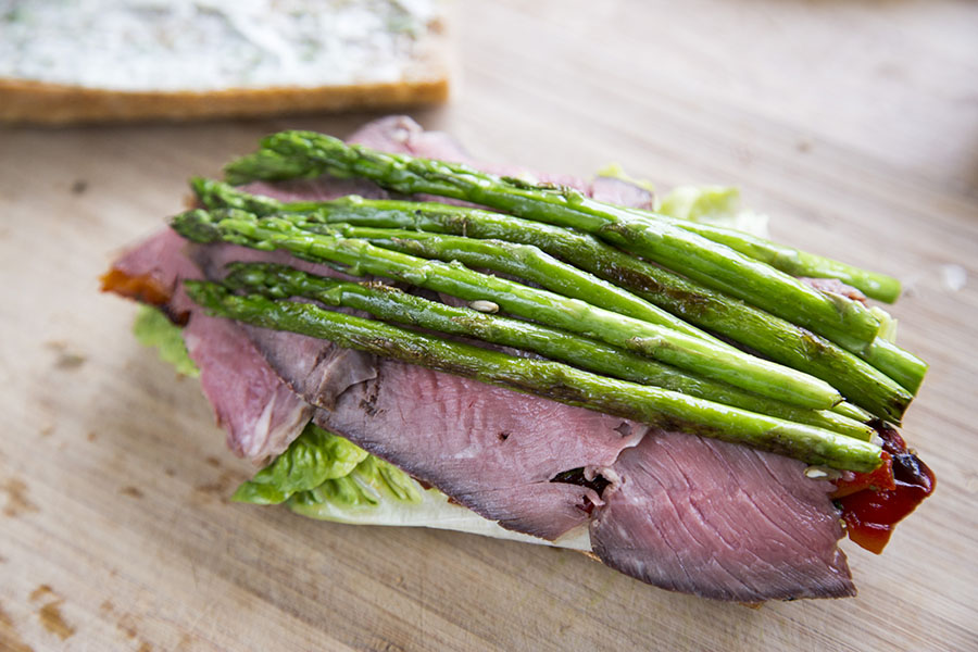 Sauteret asparges